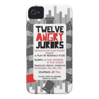 12 Angry Jurors iPhone 4 Case