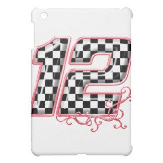 12 auto racing number iPad mini covers