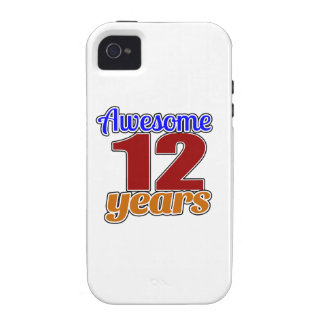 12 Awesome Birthday Case-Mate iPhone 4 Cover
