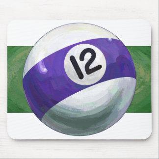 12 Ball Mouse Pad