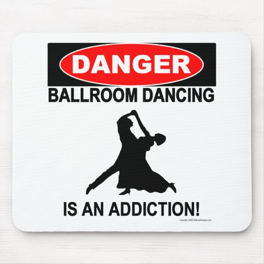 12. Ballroom Addictions Mousepad