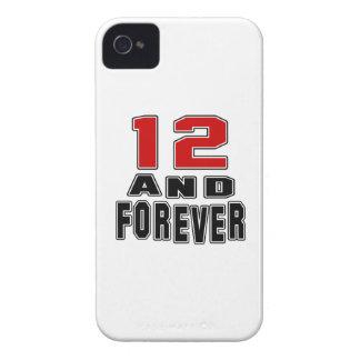 12 birthday designs Case-Mate iPhone 4 case