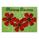 12 Blooming Recovery Greeting Card