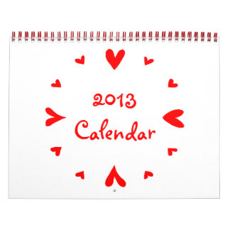 12 calendario de los corazones 2013