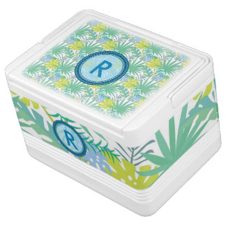 12 Can Tropical Design Igloo Cooler