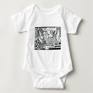 12 Commandments Baby Bodysuit