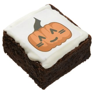 12 Cute-O-Lantern Brownies