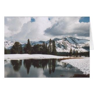 12. Dana Meadows Lake, Yosemite Greeting Card