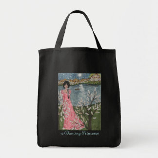 12 Dancing Princesses Canvas Bags
