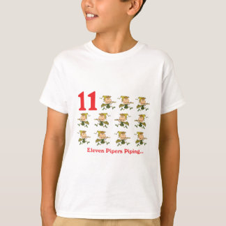 12 days eleven pipers piping T-Shirt