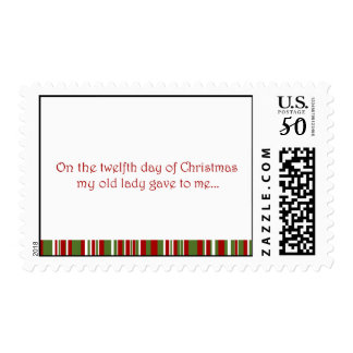 12 Days of a Redneck Christmas Postage