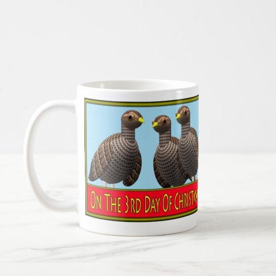 12 Days of Christmas 3-4 Coffee Mug