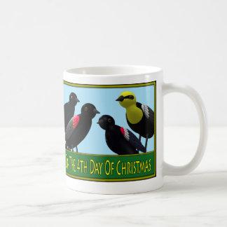 12 Days of Christmas 3-4 Mugs