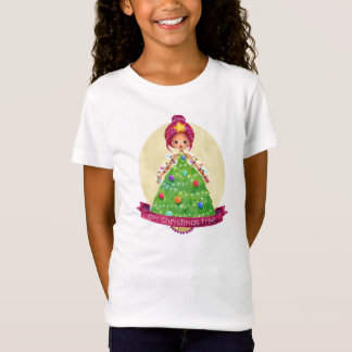 12 Days of Christmas Belles- 4 Oh Christmas Tree T-Shirt