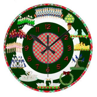 12 days of christmas clock
