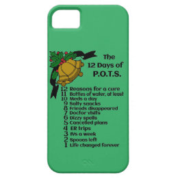 12 Days of Christmas...P.O.T.S. iPhone SE/5/5s Case
