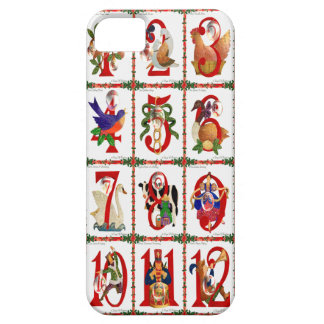 12 Days Of Christmas Quilt Print Gifts iPhone SE/5/5s Case