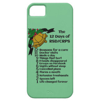 12 Days of Christmas...RSD/CRPS iPhone SE/5/5s Case