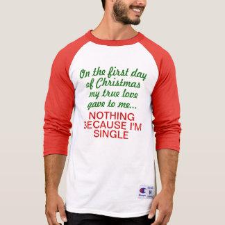 12 Days of Christmas Single Raglan T Shirt