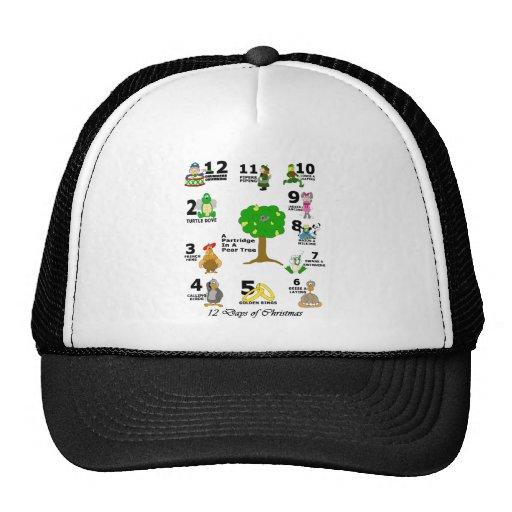12 Days of Christmas Trucker Hat