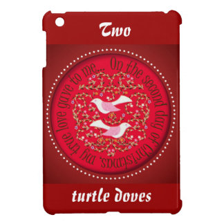 12 days of Christmas, Two turtle doves iPad Mini Cases