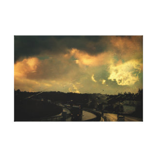 12 Days of Rain Canvas Print