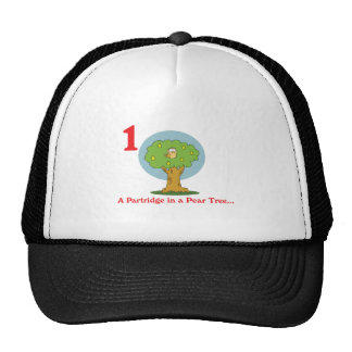 12 days partridge in a pear tree hat
