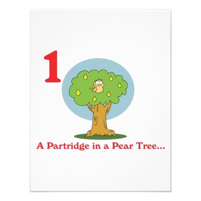 Pear Tree Cartoon a Pear Tree Personalized