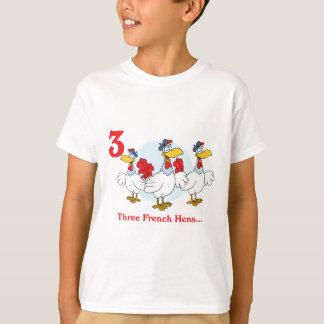 12 days three french hens T-Shirt