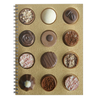 12 days to chocolate notebook