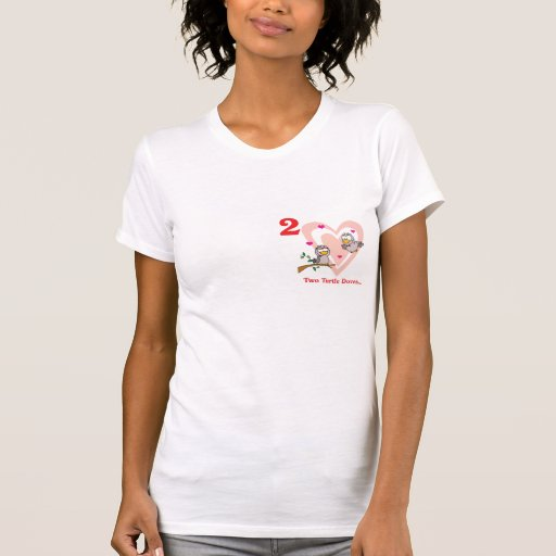12 days two turtle doves shirts