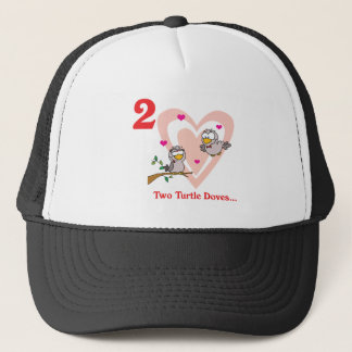 12 days two turtle doves trucker hat