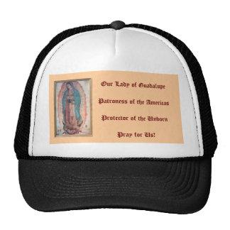 12 de diciembre   nuestra señora de Guadalupe Gorros