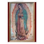 12 de diciembre   nuestra señora de Guadalupe Tarjeton