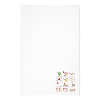 12 días de los twelves de navidad terminan papelería de diseño