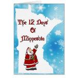 12 días de tarjeta de Minnesota
