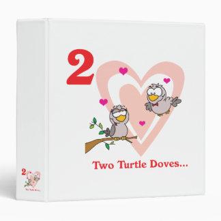 """12 días dos palomas de la tortuga carpeta 1 1/2"""""""