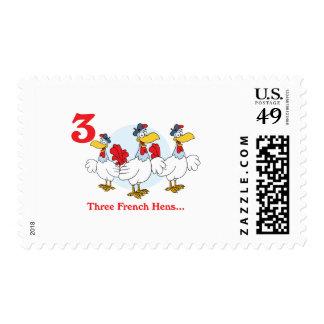 12 días tres gallinas francesas envio