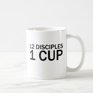 12 DISCIPLES, 1 CUP Funny Last Supper T-Shirt