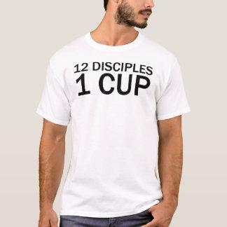 12 DISCIPLES, 1 CUP Funny Last Supper T-Shirt