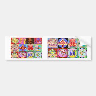 12 diseños de la cura de Reiki n Karuna Reiki Pegatina Para Auto