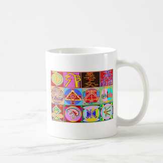 12 diseños de la cura de Reiki n Karuna Reiki Tazas De Café