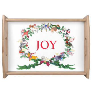12 Dogs of Christmas 2015 v.2 Serving Tray