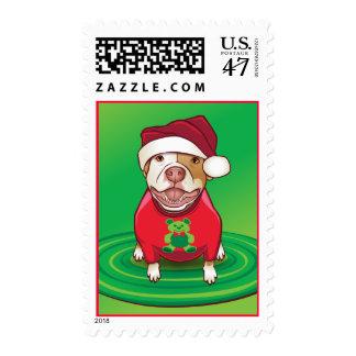 12 Dogs of Christmas Postage Stamp