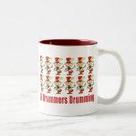 12 Drummers Drumming Mugs Mugs