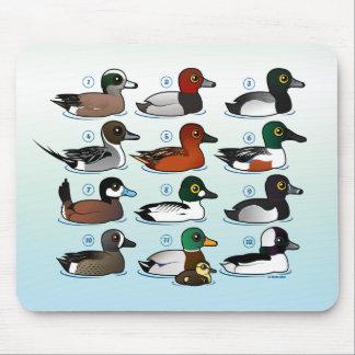 12 Ducks Mouse Pad