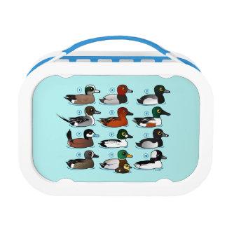 12 Ducks with Key Lunch Box