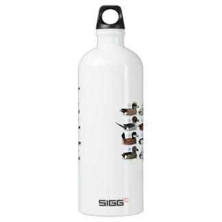 12 Ducks with Key Water Bottle