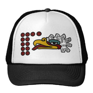 12 Eagle Aztec Day Sign Trucker Hat