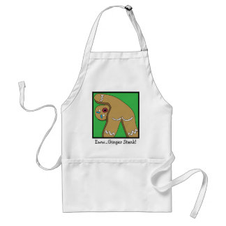 12 Farts of Christmas Gingerbread Adult Apron